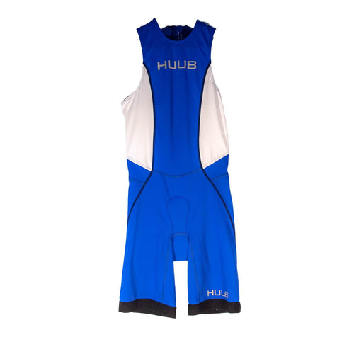 トライスーツ リアジップ Japan Limited Triathlon Suit Rear Zip - Blue/White [メンズ] HBMT19052 - STYLE BIKE ONLINE SHOP