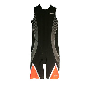 トライスーツ リアジップ Japan Limited Elite Triathlon Suit Rear Zip - Black/Black [メンズ] HBMT19053