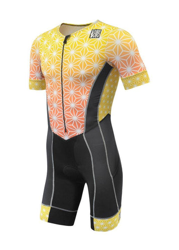 トライスーツ FORZA Flisuit Sleeved - Yellow Sparkle [メンズ] FFTSylw-spkl - STYLE BIKE ONLINE SHOP