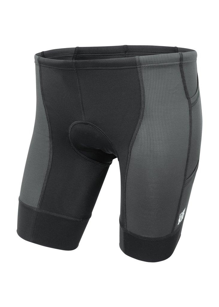 トライスーツ トライショーツ FORZA Triathlon Short 4-PocketS - Black/Black Stitch [メンズ] FTF3blk - STYLE BIKE ONLINE SHOP