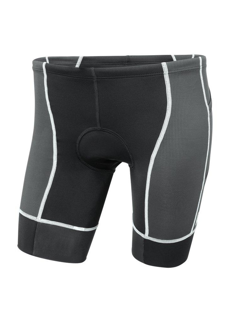 トライスーツ トライショーツ FORZA Triathlon Short 4-PocketS - Black/White Stitch [メンズ] FTF3blkwht - STYLE BIKE ONLINE SHOP