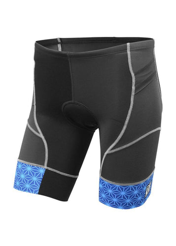 トライスーツ トライショーツ RIVIERA Triathlon Short - Black/Blue Sparkle Leg Band [メンズ] RTS3blu-spkl - STYLE BIKE ONLINE SHOP