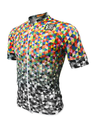 トライスーツ トライトップ Skin Cooler Full Zip Triathlon Top - Short Sleeve - Color Fade [メンズ] FVSCclrfd - STYLE BIKE ONLINE SHOP
