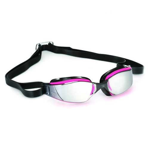 スイムゴーグル MP Michael Phelps XCEED(エクシード) Lady-fit - Pink/Black/Silver Mirrored Lens [レディーズ] - STYLE BIKE ONLINE SHOP