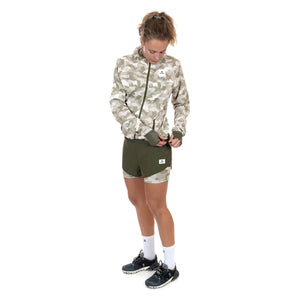 ランニングショーツ BGRSH02 Wmns 2 In 1 Shorts - Olive / Desert Splinter Camo [レディーズ] - STYLE BIKE ONLINE SHOP