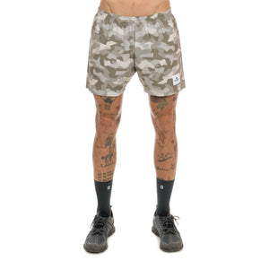 ランニングショーツ Splinter Pace Shorts - Desert Splinter Camo [ユニセックス] BMRSH01
