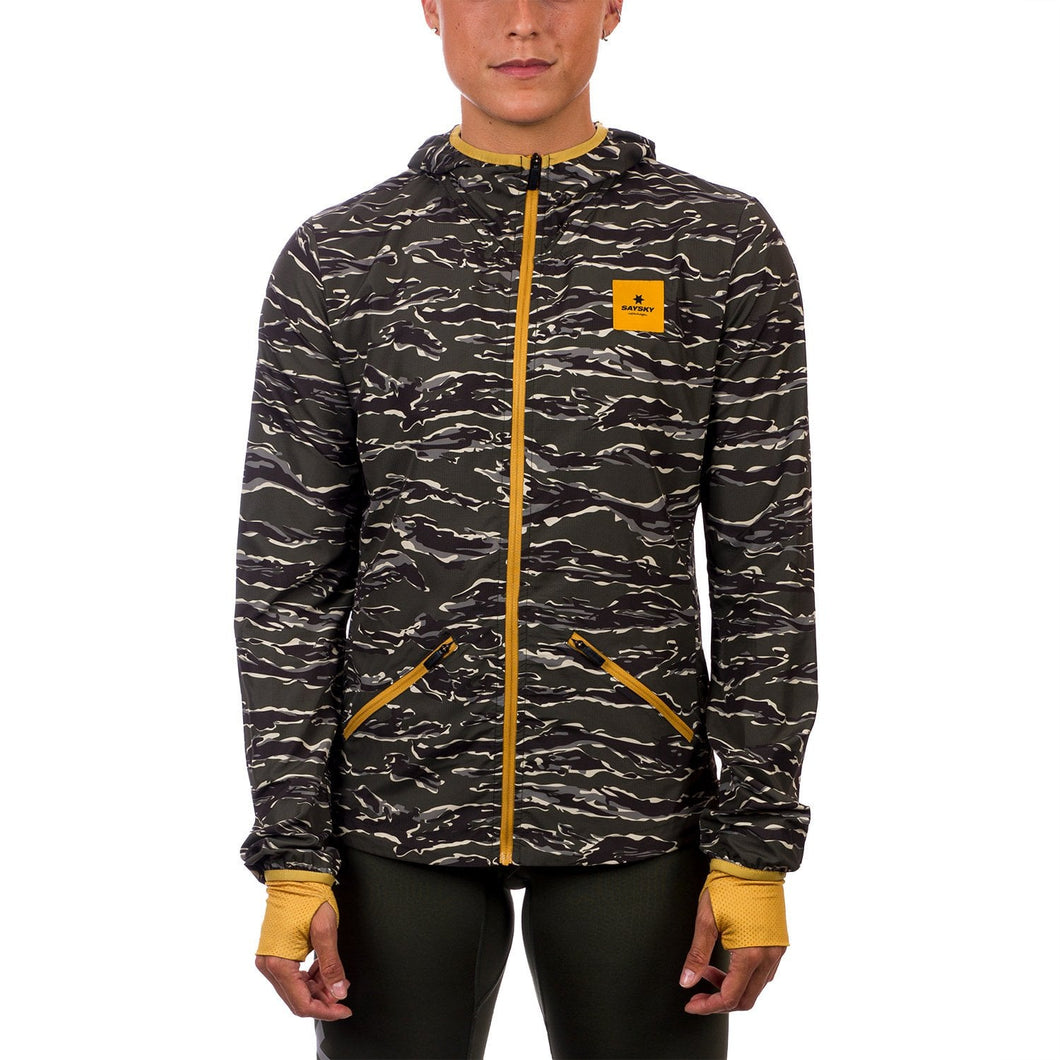 ランニングジャケット CGRJA01 Tiger Pace Hooded Jacket - Forest Tiger Camo [レディーズ] - STYLE BIKE ONLINE SHOP