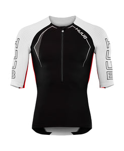 トライトップ アネモイ ANEMOI Triathlon Top - Black / White / Red [メンズ] ANEAT