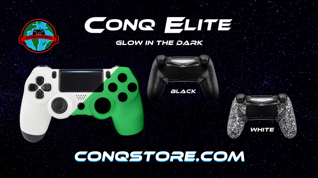 ConQ Elite Glow in the Dark Controller