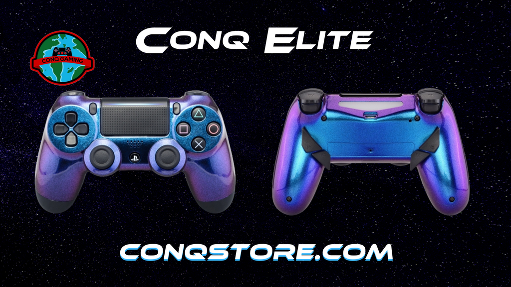 ConQ Elite Chameleon Purple Blue