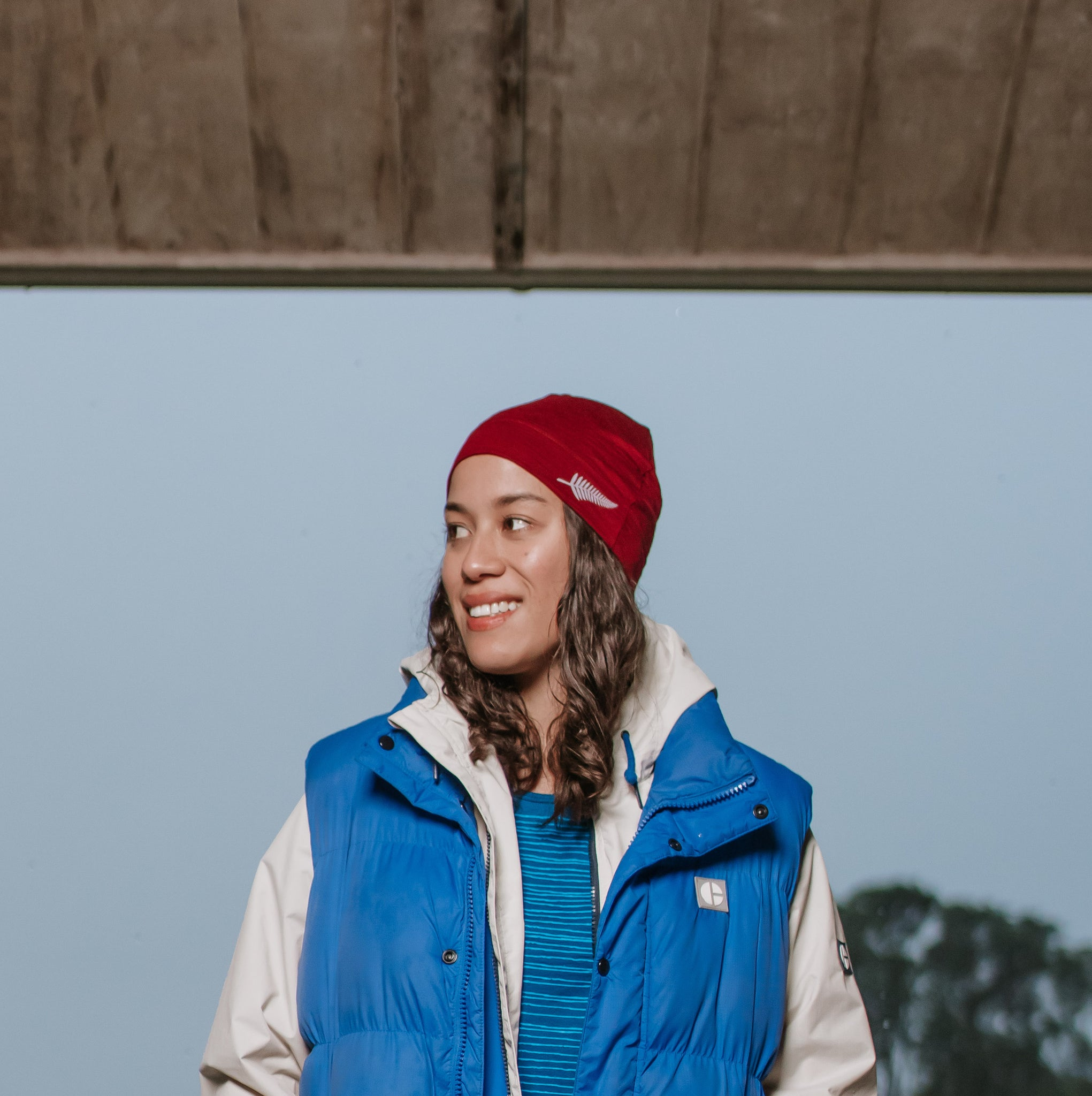 Merino Deep-Wine Beanie. Made in New Zealand