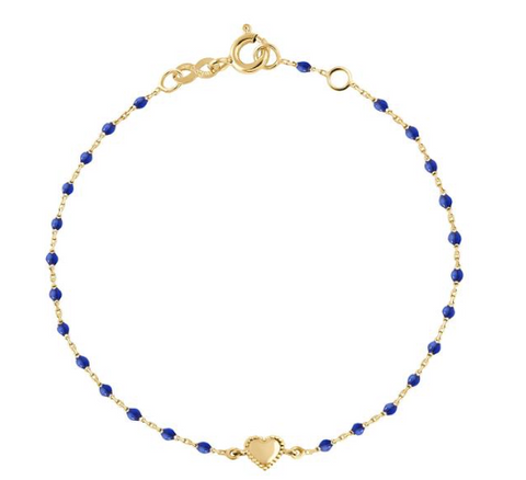 Mini gigi Lucky Heart Bracelet Blue