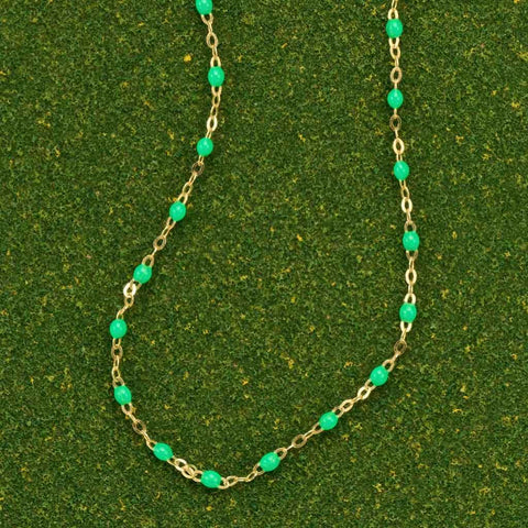 Gigi Clozeau Neon Green Necklace