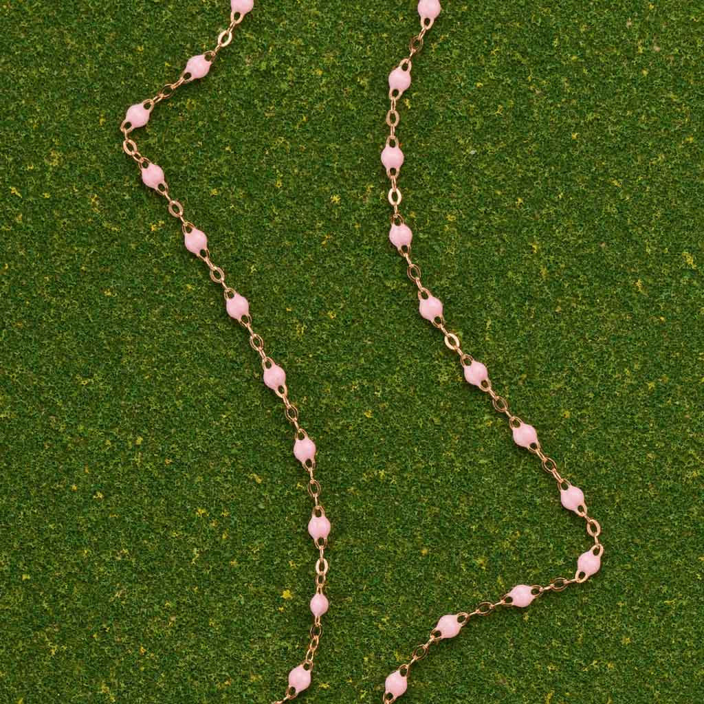 Pale Pink Necklace by Gigi Clozeau