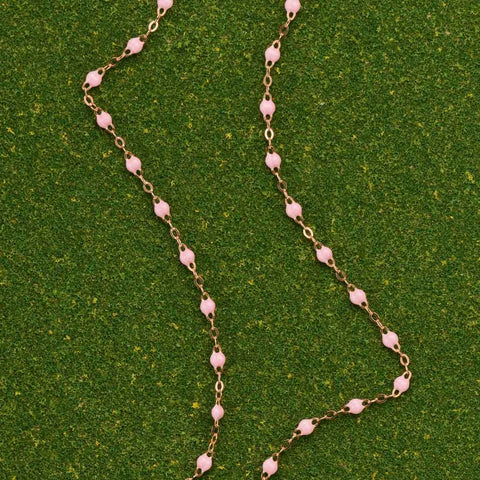 Gigi Clozeau Pale Pink Necklace