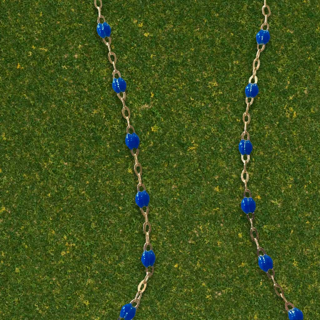 Gigi Clozeau Royal Blue Necklace