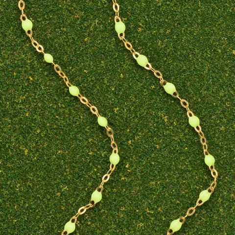 Gigi Clozeau Neon Yellow Necklace