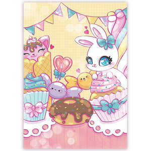 Diorama Yummy Party (A3 y A2)