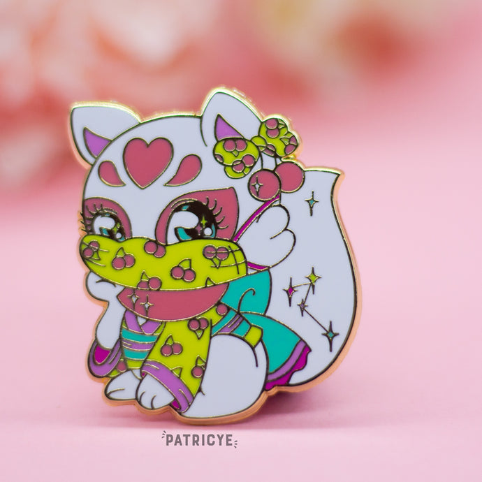 Safe Kitsune Pin