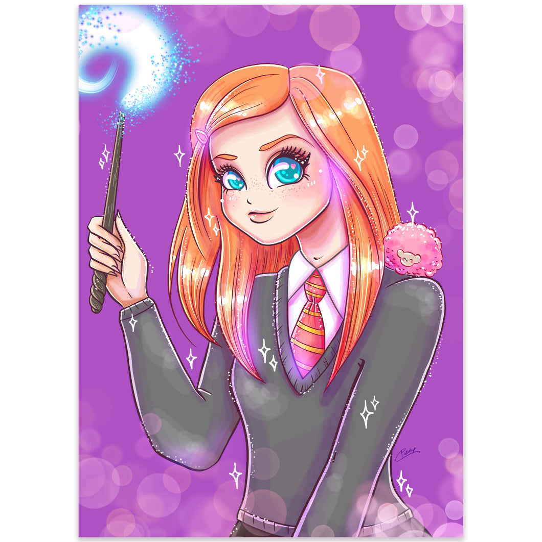 Print Perlado Magic Ginny (A5)