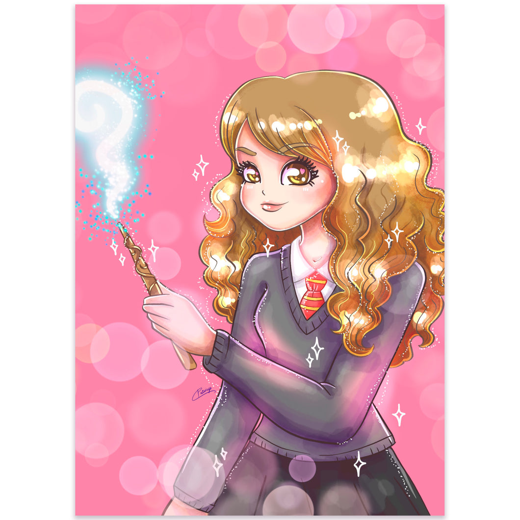 Print Perlado Magic Hermione (A5)