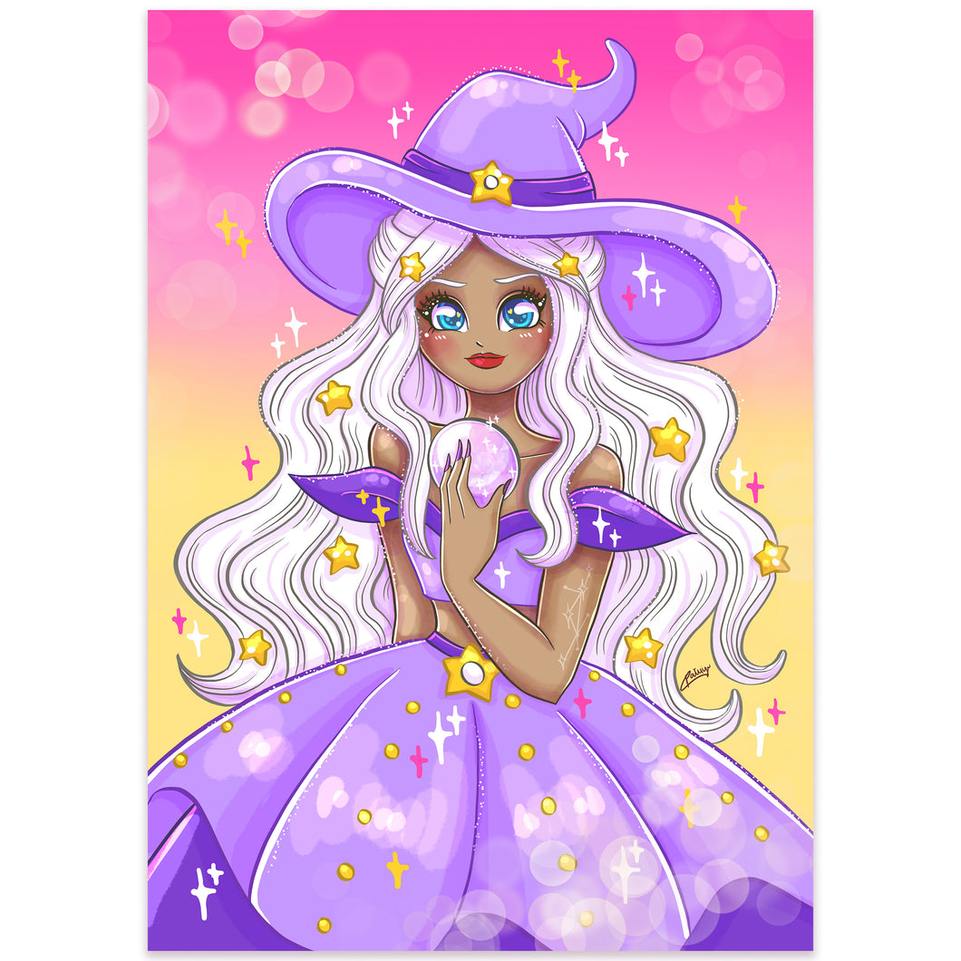 Print Perlado Witch Galaxia (A4)