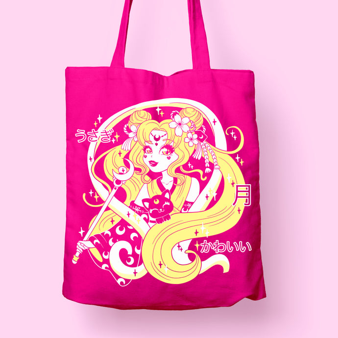 Totebag Moon Godness