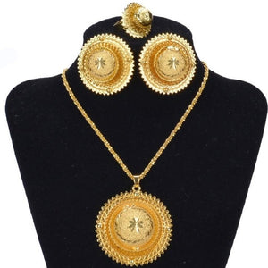 Habesha (Ethiopian and Eritrean) Hot Bridal Jewelry Set!