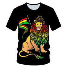Load image into Gallery viewer, Veteran, Biker, Lion of Judah, and, Eagle 3D T-shirts!