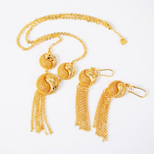 Load image into Gallery viewer, Ethiopian Dubai Gold-Plated Jewelry Set!