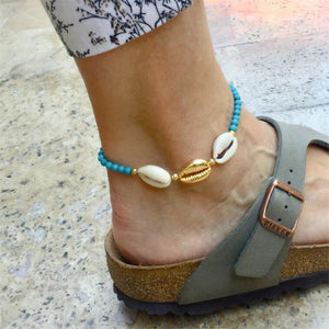 Seashell and Beads Anklets for Women!