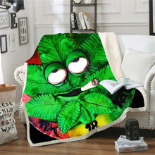Load image into Gallery viewer, Bob Marley Reggae Throw Blanket!