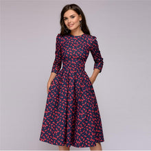 Load image into Gallery viewer, Elegant Long Sleeve Dress for Women!