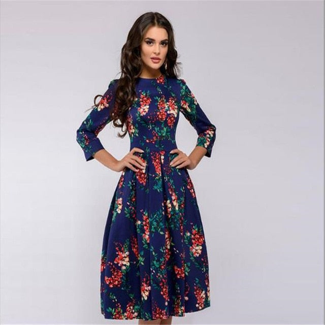 Elegant Long Sleeve Dress for Women!