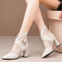 Load image into Gallery viewer, Gladiator High Heeled Sandals Boots for Women!