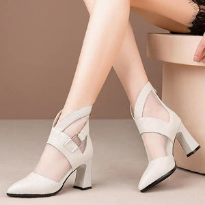 Gladiator High Heeled Sandals Boots for Women!