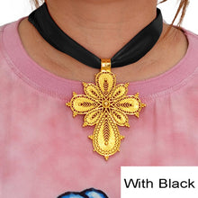 Load image into Gallery viewer, Ethiopian and Eritrean Cross Pendant for Women!