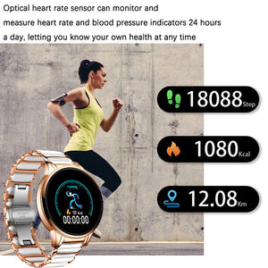 Luxury Fitness Tracker Smart Watch for All Gender!