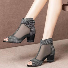 Load image into Gallery viewer, High Heeled Ankle Boots for Women!