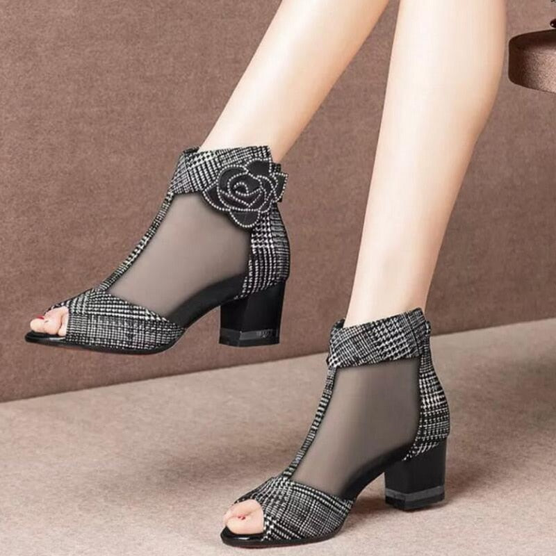 High Heeled Ankle Boots for Women!