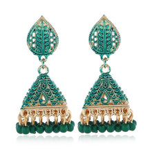 Load image into Gallery viewer, Vintage Luxury Tassel Beaded Dangle Drop Earrings!