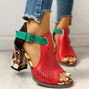 High Heel Hollow Out Shoes for Women!