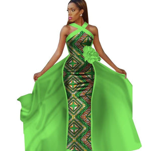 Sleeveless African Dress for Women!