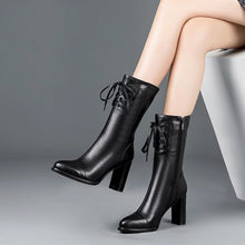 Load image into Gallery viewer, Soft Leather High Heel Boots for Women!