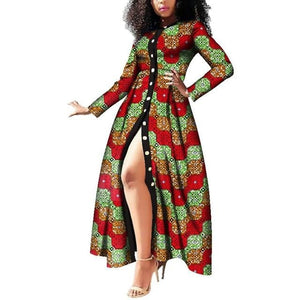 Wax Print African Dress for Women!