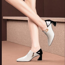 Load image into Gallery viewer, Leather High Heels Women's Shoes!