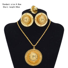 Load image into Gallery viewer, Habesha (Ethiopian and Eritrean) Hot Bridal Jewelry Set!