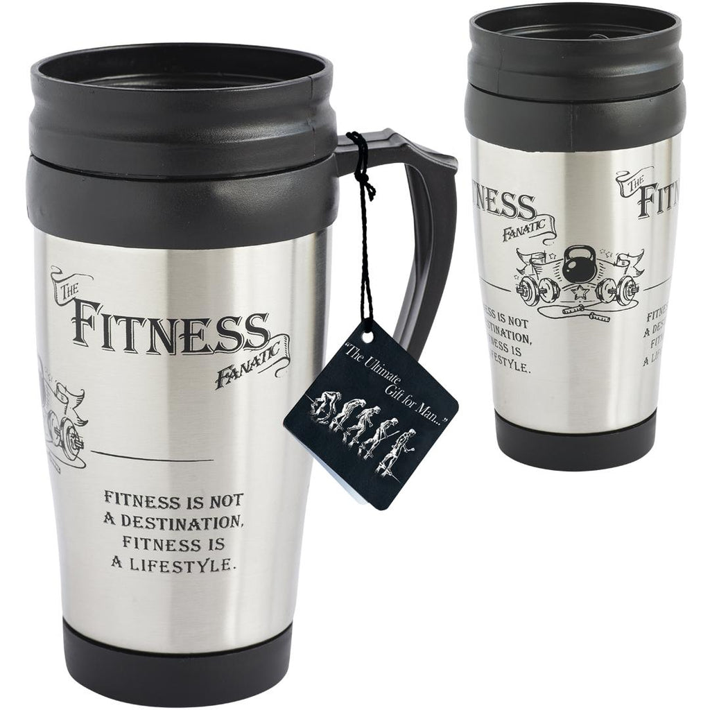 Fitness Fanatic - Travel Mug** Travel Mug Arora
