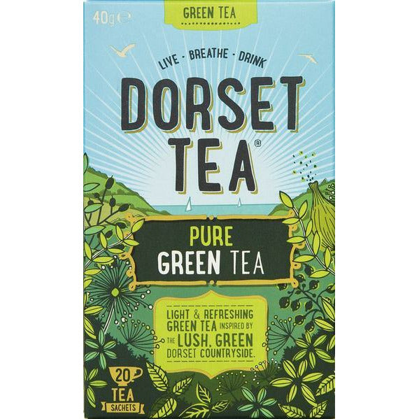 Dorset Tea Green Tea Tea Bags x 20 - Beales department store