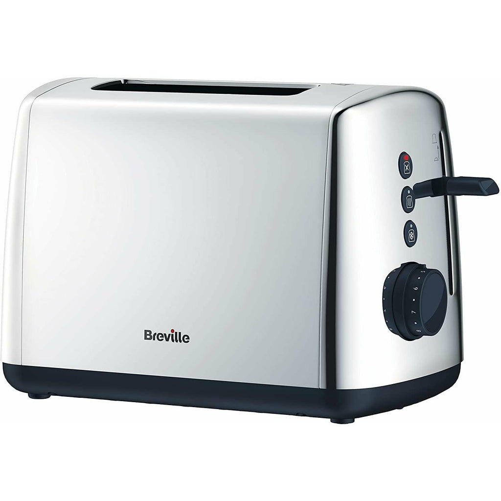 Breville Vista Polished Stainless Steel Toaster - Beales department store